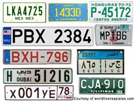 lpr international plates